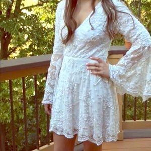 Sherri Hill White homecoming dress 50569 sz 4